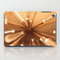 chandelier iPad Cases featuring chandelier by Chris Cooch