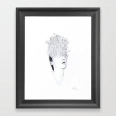 Self-Portrait: Entropy Framed Art Print