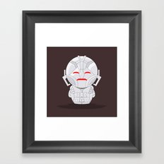 ChibizPop: No strings attached! Framed Art Print