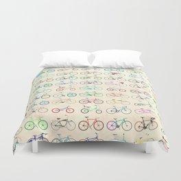 Bikes Duvet Cover