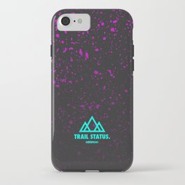 Trail Status / Grey iPhone Case