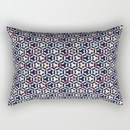 Cubes3 Rectangular Pillow