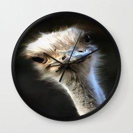 Ostrich Head Wall Clock
