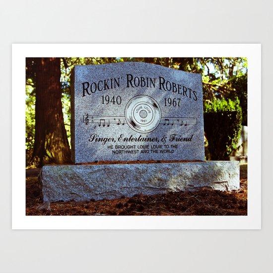Remembering Rockin' Robin Art Print
