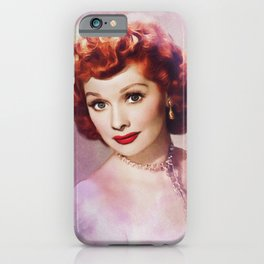 Lucille Ball, Hollywood Legend iPhone Case