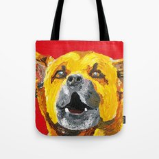 bus stop barker Tote Bag