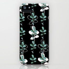 Midnight leves iPhone Case