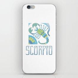 Scorpio - water sign iPhone Skin