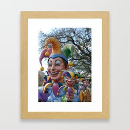 The King's Jesters Framed Art Print