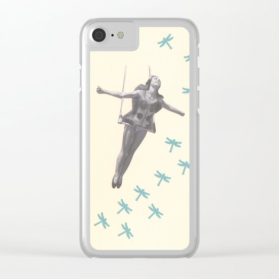 Oh to be a Dragonfly Clear iPhone Case