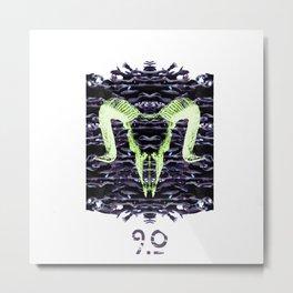 9.0 Metal Print