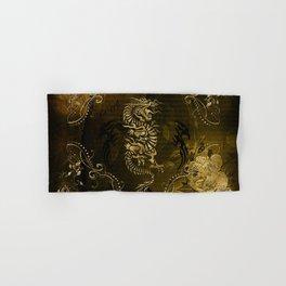 Wonderful golden chinese dragon Hand & Bath Towel