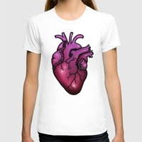 anatomical heart T-shirts featuring Anatomical Heart by Hungry Designs
