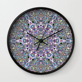 Piled Layers Of Pulled Bubble Gum Wall Clock Amazing Design