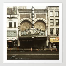 Paramount Theater, Newark Art Print