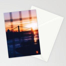 New York bridge Stationery Cards