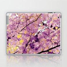 autumn colors - yellow Laptop & iPad Skin