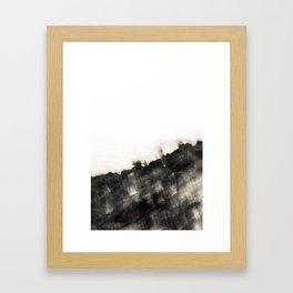 Ragged Line of Sea and Coast Framed Art Print