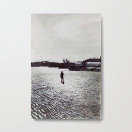 Low Tide, Bay of Fundy Metal Print
