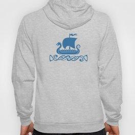 Drgon Boat - Blue Hoody