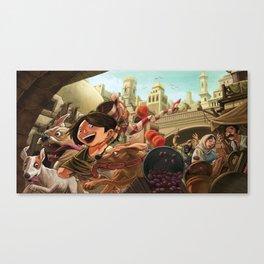 Street Gang Canvas Print