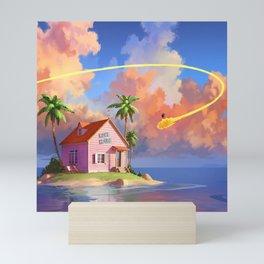 Kame House Mini Art Print