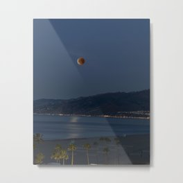 Super Blue Blood Moon ~ Santa Monica, CA 01/31/2018 Metal Print