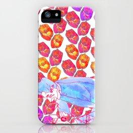Diamond Pollen iPhone Case