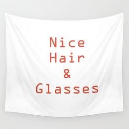 Yassssssssssss. Dat hair. Those glasses. Wall Tapestry