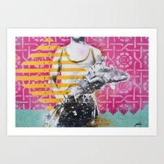 ARAWAK TAINOS Art Print