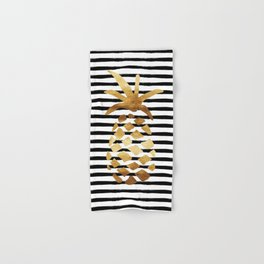 Pineapple & Stripes Hand & Bath Towel