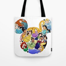 Princess Mickey Ears Tote Bag