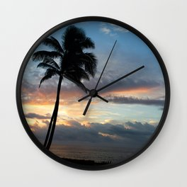 In the Palm of Hawaii Wall Clock