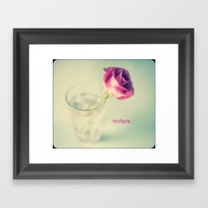 {Vintage} Framed Art Print