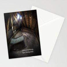 Urbex bedroom Stationery Cards