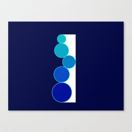 Only Circles 2 Canvas Print