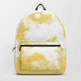 Daffodil Yellow Tie Dye Pattern  Backpack