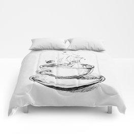Heaven cup. Comforters