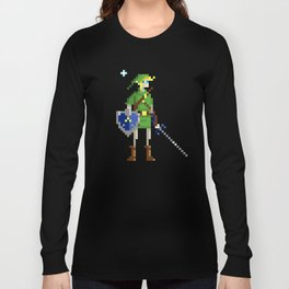 Pixel Link Long Sleeve T-shirt