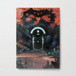 The Doors of Durin Metal Print