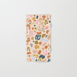 Abstract Paper Cuts Hand & Bath Towel