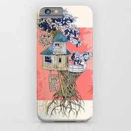 Treehouse colors iPhone Case
