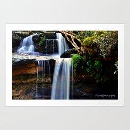Narrabeen Waterfall Art Print