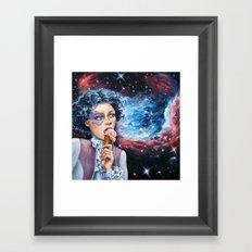 Munchkin II: Ice Cream Darling Framed Art Print