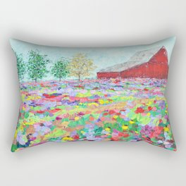 Texas Hill Country Rectangular Pillow