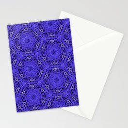 Purple Passion Pattern Stationery Cards