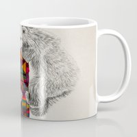 kris tate Mugs featuring The Innocent Wilderness by Peter Striffolino and Kris Tate by Peter Striffolino