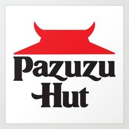 Pazuzu Hut Art Print
