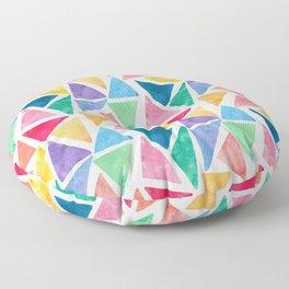 Watercolor Pattern Floor Pillow