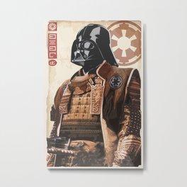 Star Wars - Samurai Vader Metal Print